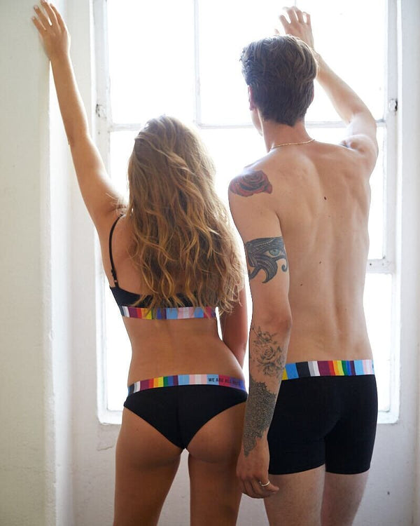4 Styles of Matching Underwear For Couples