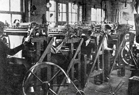 1800's Sock History, The introduction of the Knitting Machine
