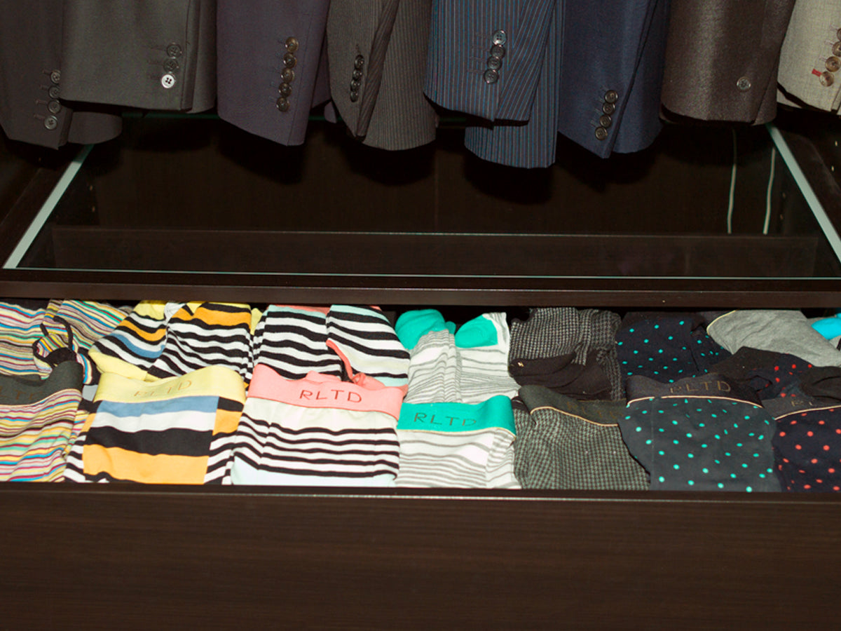 Men's Fashion - How To Keep the Perfect Drawer