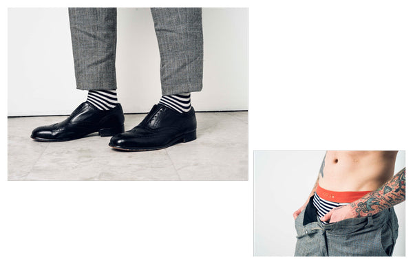 Related Garments Spring 2016 Lookbook | Matching Socks and Underwear