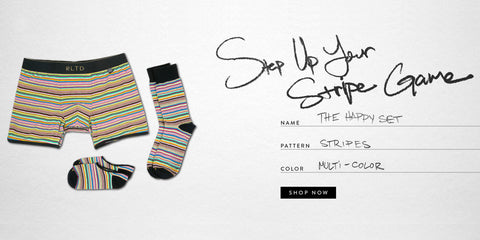 Men's Fashion 101: Shop The Happy Matching Socks and Underwear