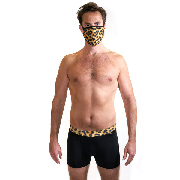 Leopard Mask & Underwear Bundle - Related Garments