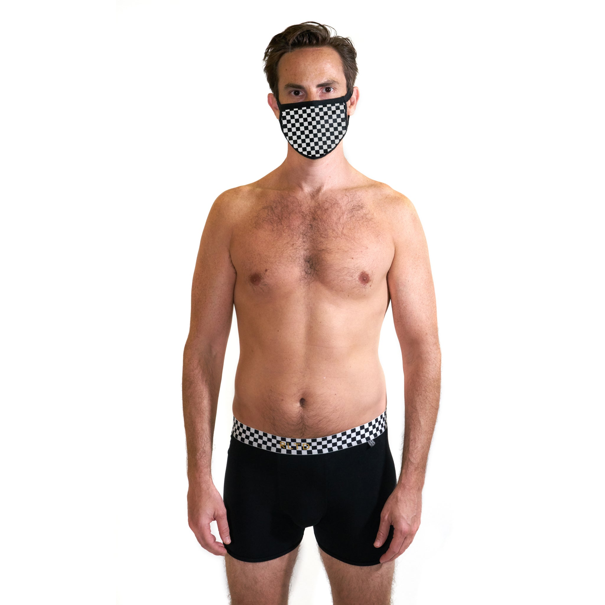 Bandit Face Cover & Underwear/Sock Bundle - Related Garments