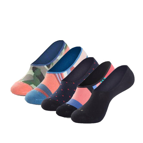No Show Summer Sock 5-Pack