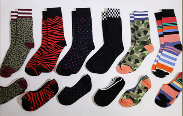 Mystery Sock 5-Pack - Related Garments