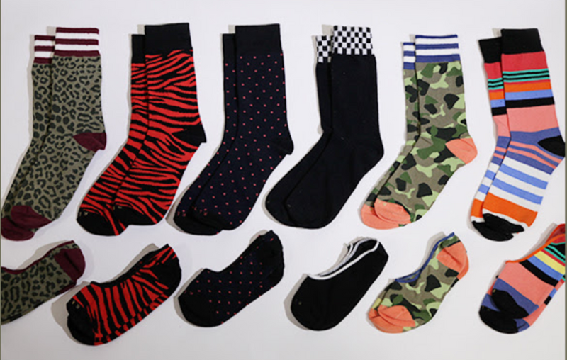 Mystery Sock 10-Pack - Related Garments