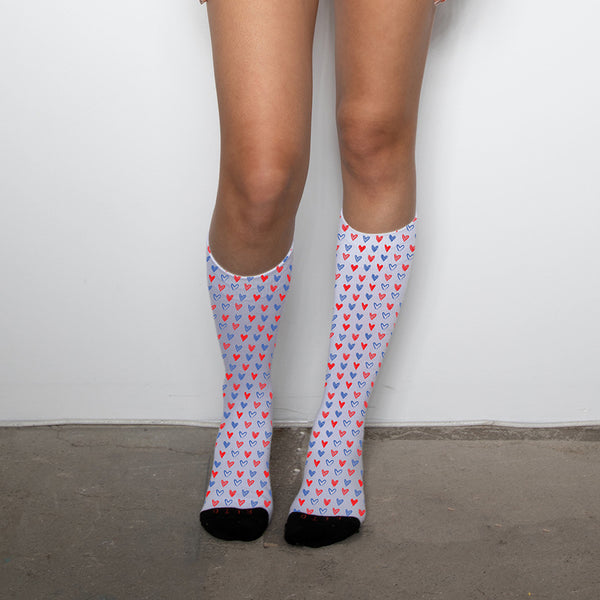 Hearts Unisex Socks - Related Garments