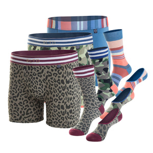 BOXER BRIEF + CREW SOCK + NO-SHOW SOCK - The Adventurous Dad Pack
