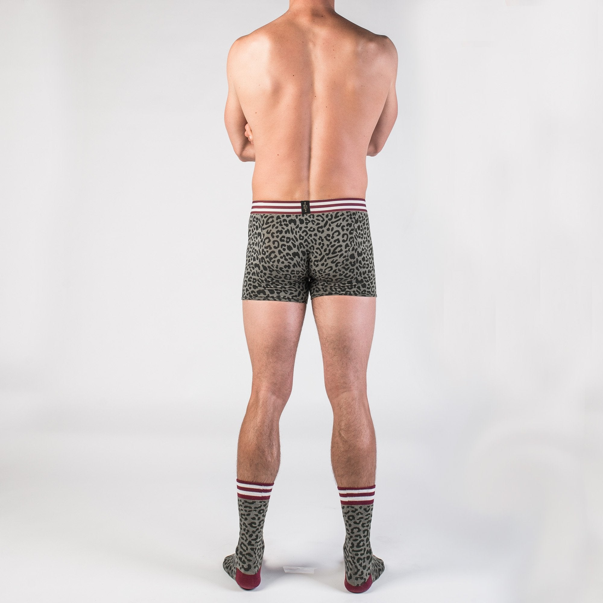 BOXER BRIEF + CREW SOCK + NO-SHOW SOCK - The Cheetah