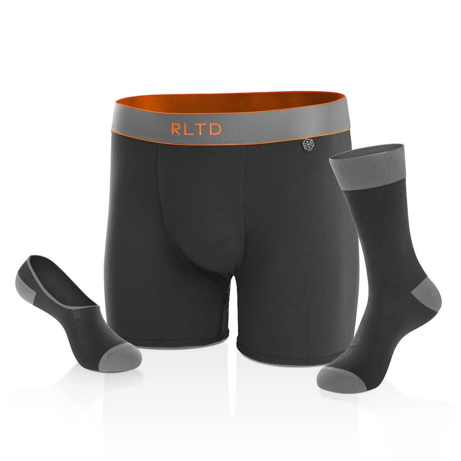 BOXER BRIEF + CREW SOCK + NO-SHOW SOCK - The Sunset