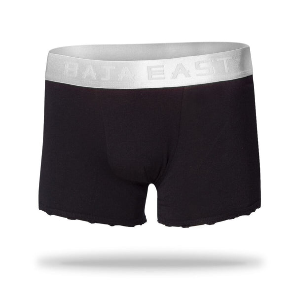 Boxer Briefs - Baja East X Related Garments Men's White Boxer Brief 3-Pack