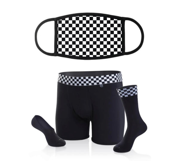 couples face masks, matching mens socks and underwear, Underwear Gift for Men