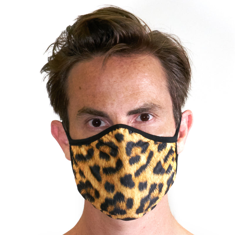 Leopard Face Cover & Underwear Bundle - Related Garments