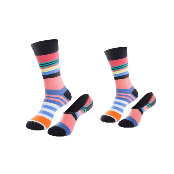 Flying Cross Couple's Sock Set