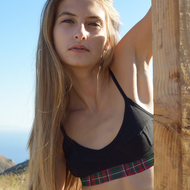 The Plaid Bralette - Related Garments