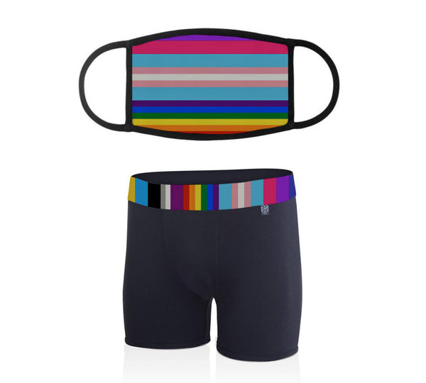 Pride Mask & Underwear Bundle - Related Garments
