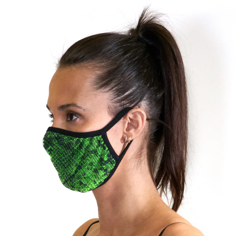 Snake Face Mask - Related Garments