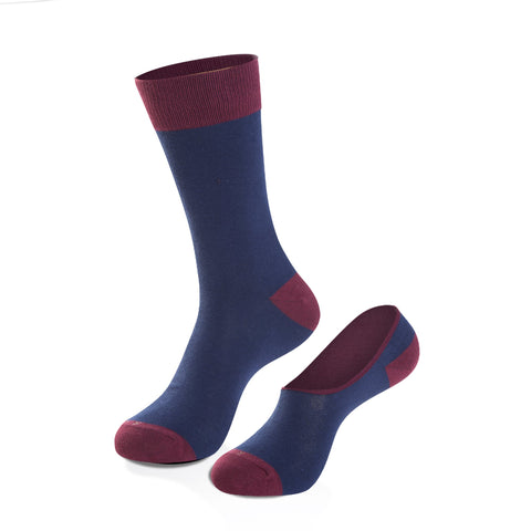 Socks - Hef Crew Sock + No-Show Sock Set