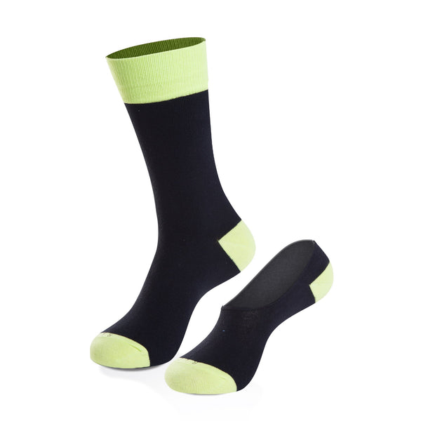 Socks - Nighthawk Crew Sock + No-Show Sock Set