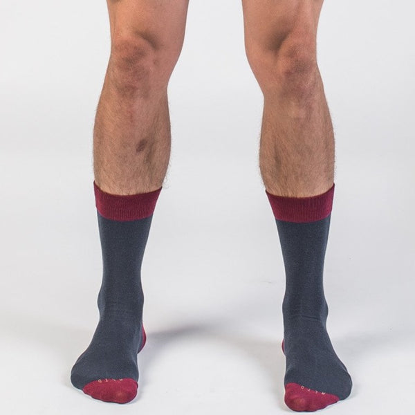 Hef Crew + No-Show Sock Set - Related Garments
