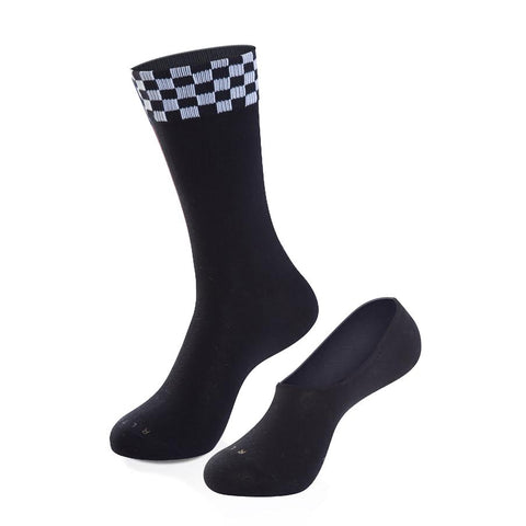 The Bandit Crew Sock + No Show Sock Set