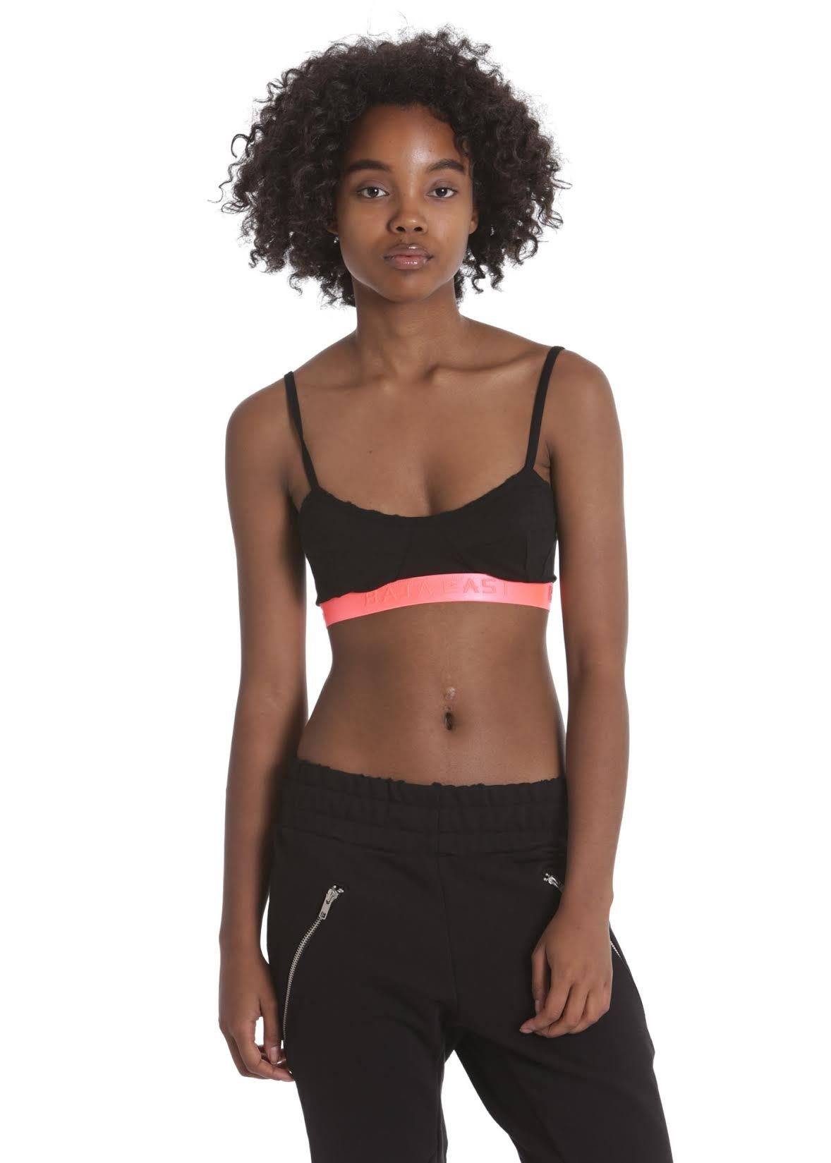 Womens Bralette - Baja East X Related Garments Women's Pink Bralette
