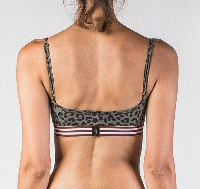 Womens Bralette - The Cheetah Bralette