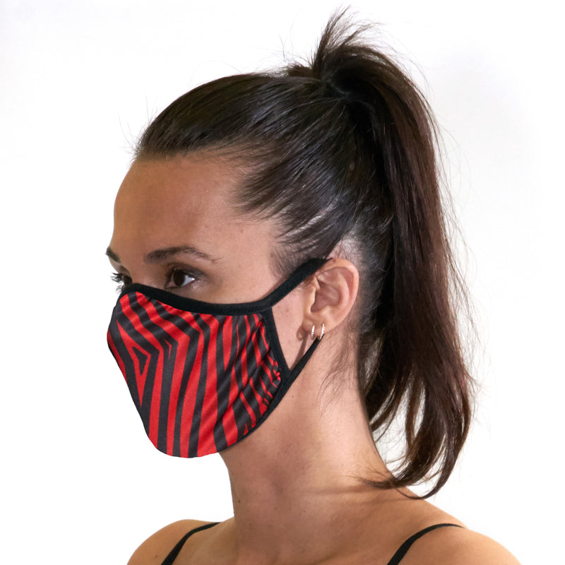 Zebra Face Mask - Related Garments