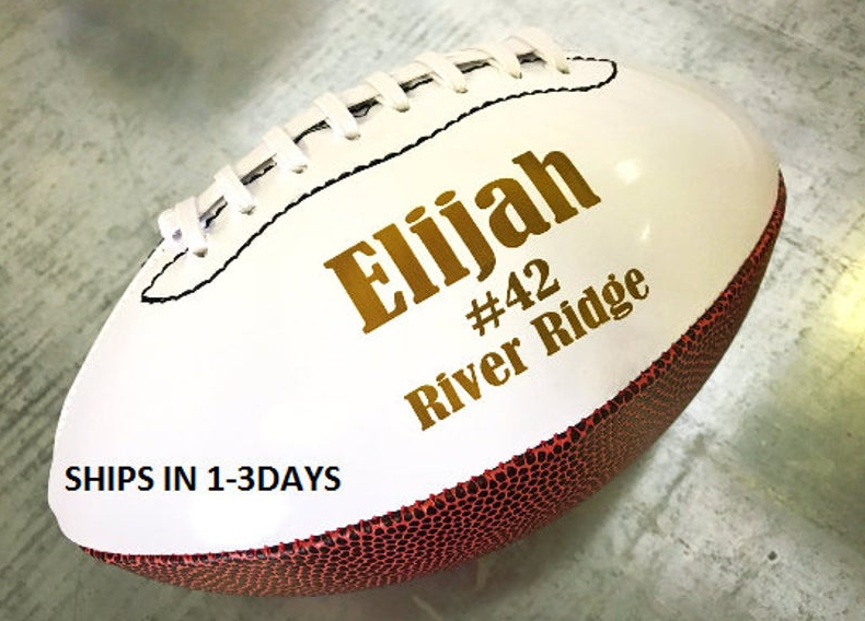 TEAM GIFT, Football Gift, Personalized Football, Sports Gift, Coaches Gift, Keepsake