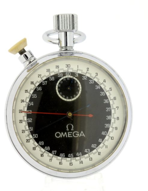 Vintage Omega Branded Stopwatch Sports Collectibles