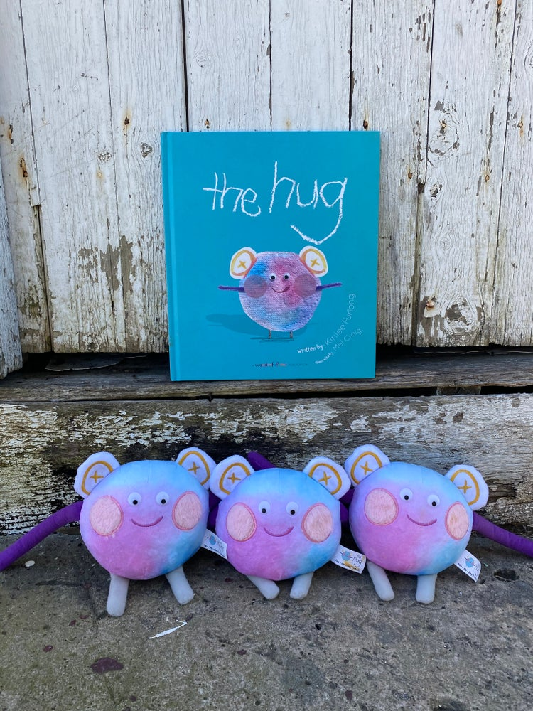 The Hug Book and The Hug Soft Toy. Helping children in the areas of emotional health and self worth, encouraging them to be brave, clever and wonderful.