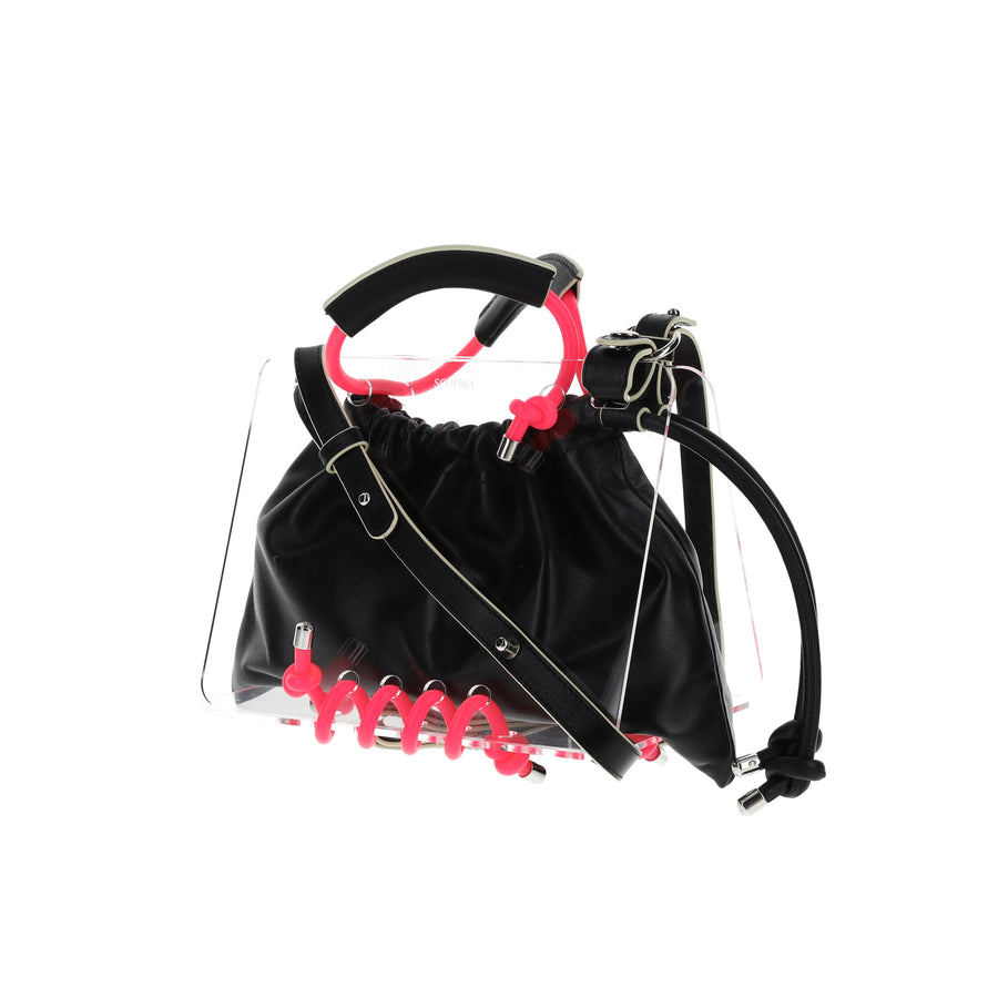 Panorama Bag in Black [Customisable]