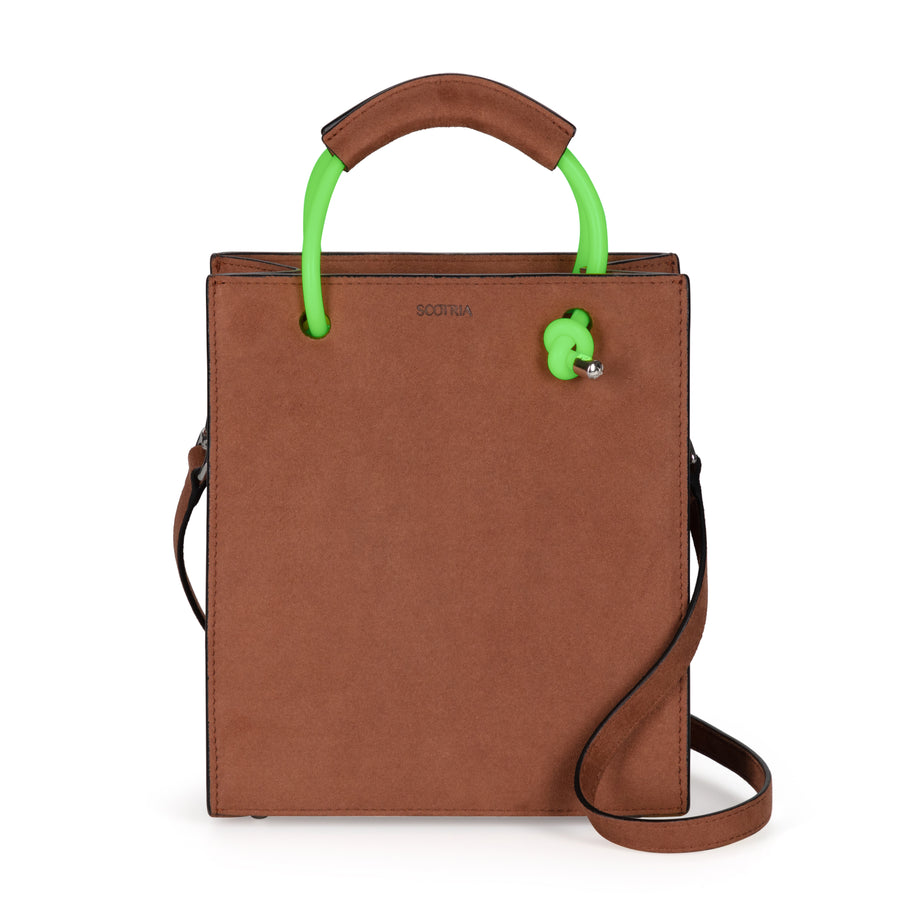 Strap Tote in Brown [Customisable]