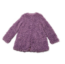Load image into Gallery viewer, Lavender Lily Vegan  Fur coat.