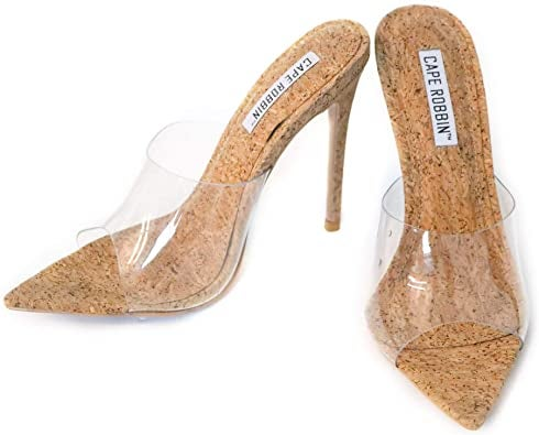 Cinderella Cork Slippers