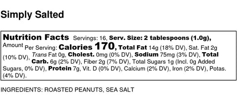 Simply Salted Nutrition Info