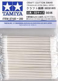 Tamiya Craft Cotton Swab Triangular - Extra Small 50pcs