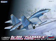 "Great Wall Hobby 1/48 SU-35S ""Flanker-E"" Multirole Fighter #L4820"