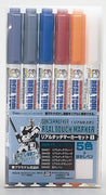 Mr. Hobby Gundammarker Real Touch Marker Set 1