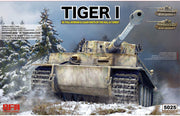Ryefield Model 1/35 Tiger I Early Production Sd.Kfz. 181 Pz.kpfw.VI Ausf. E (with full interior) #RM-5025