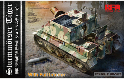 Ryefield Model 1/35 Sturmmörser Tiger (Sturmtiger with full interior) #RM-5012