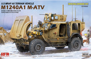 Ryefield Model 1/35 U.S MRAP All Terrain Vehicle M1240A1 M-ATV (with full interior) #RM-5032