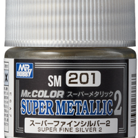 Mr. Hobby Mr Color Super Metallic II - Super Fine Silver II 10ml