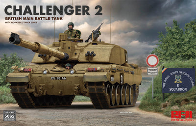 Ryefield Model 1/35 Challenger 2 British Main Battle Tank #RM-5062