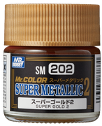 Mr. Hobby Mr Color Super Metallic II - Super Gold II 10ml
