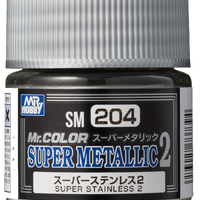 Mr. Hobby Mr Color Super Metallic II - Super Stainless II 10ml
