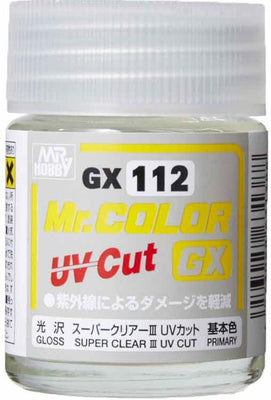 Mr. Hobby Mr Color GX-112 Super Clear III UV Cut Gloss 18ml