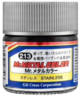 Mr. Hobby Mr Metal Color - Stainless Steel 10ml