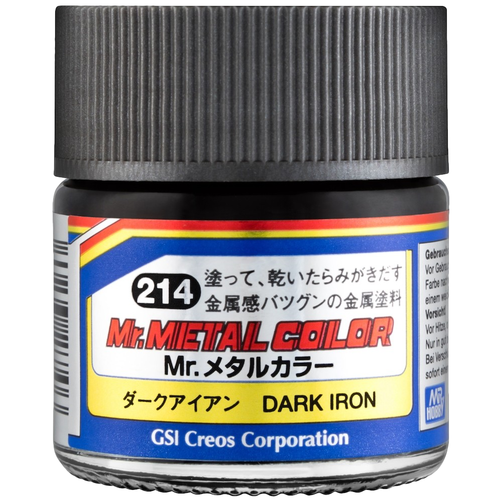 Mr. Hobby Mr Metal Color - Dark Iron 10ml