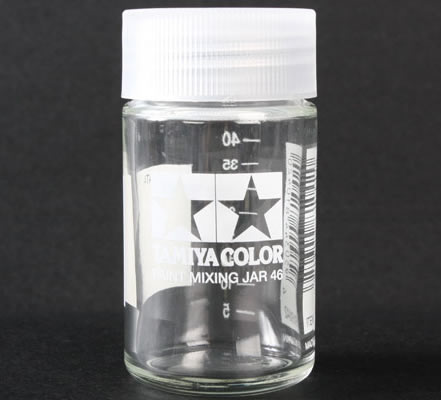 Tamiya 46ml Paint Mixing Jar with Measure